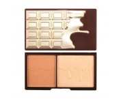 MAKE UP REVOLUTION Bronze and glow 11g - bronzer i roświetlacz do twarzy