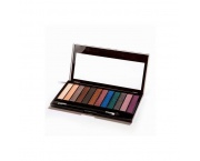 MAKE UP REVOLUTION Redemption Palette Hot Smoked 14g - paleta 12 cieni do powiek