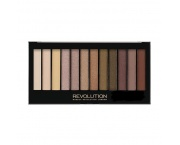 MAKE UP REVOLUTION Redemption Palette Iconic Dreams 14g - paleta 12 cieni do powiek