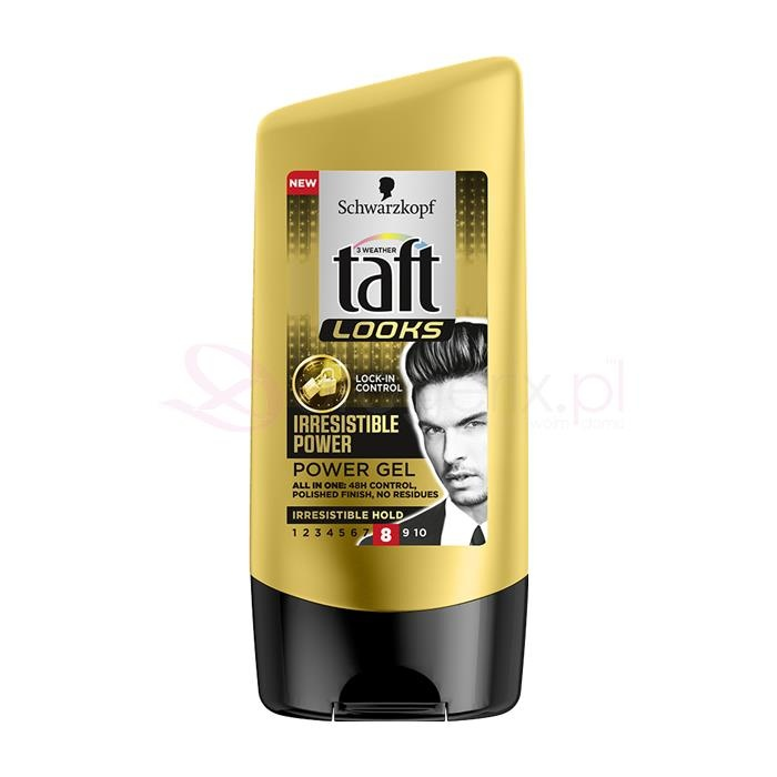 TAFT Looks Irresistible Power Gel 8 150ml - żel do włosów